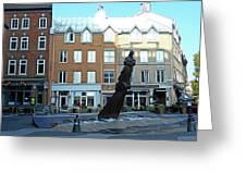 Quebec City 48 Greeting Card