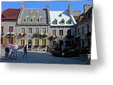 Quebec City 54 Greeting Card