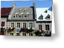 Quebec City 55 Greeting Card