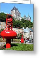 Quebec City 58 Greeting Card