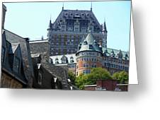 Quebec City 60 Greeting Card