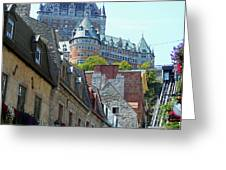 Quebec City 61 Greeting Card