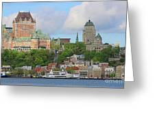 Quebec City  6326 Greeting Card