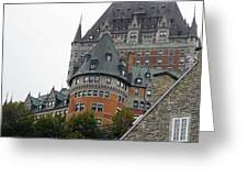 Quebec City 66 Greeting Card