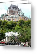 Quebec City 68 Greeting Card