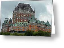 Quebec City 70 Greeting Card