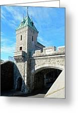 Quebec City 72 Greeting Card