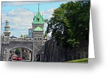 Quebec City 82 Greeting Card