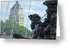 Quebec City Detail 40 Greeting Card
