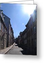 Quebeccity 2 Greeting Card
