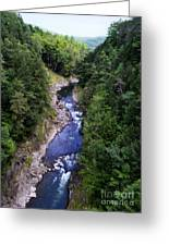 Quechee Gorge In Vermont Greeting Card
