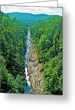 Quechee Gorge-vermont  Greeting Card