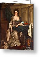 Queen Anne Og England Represented  Greeting Card