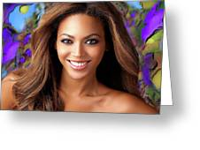 Queen Beyonce Greeting Card