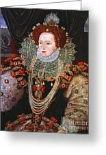 Queen Elizabeth I, C1588 Greeting Card