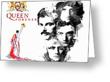 Queen Forever Remix II Greeting Card