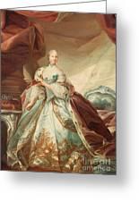 Queen Juliane Marie Of Denmark Greeting Card