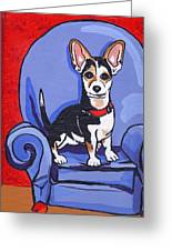 Queen Lucy Greeting Card