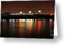 Queen Mary Panorama  Greeting Card
