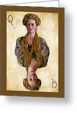 Queen Mother Greeting Card