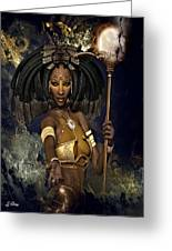 Queen Negasi Greeting Card