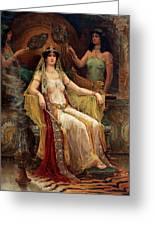 Queen Of Sheba Greeting Card