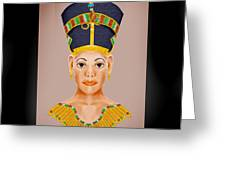 Queen Of The Nile Greeting Card