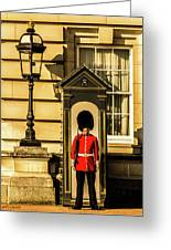 Queens Guards. Greeting Card