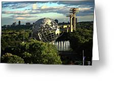 Queens New York City - Unisphere Greeting Card