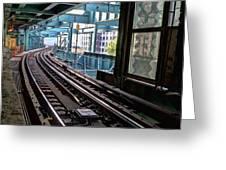 Queens Rails Greeting Card