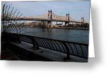 Queensboro Bridge, Nyc Greeting Card