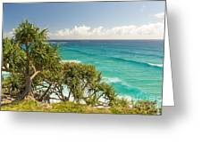 Queensland Coastline Greeting Card