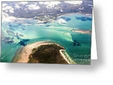 Queensland Island Bay Landscape Greeting Card