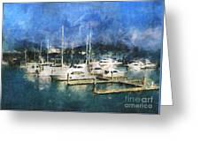 Queensland Marina Greeting Card