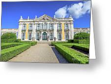 Queluz National Palace Greeting Card