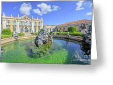 Queluz National Palace Sintra Greeting Card