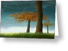 Quercus Corymbion Greeting Card