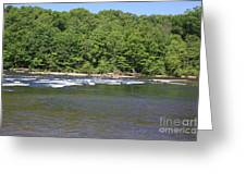Quick River Greeting Card