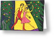 Quick Sketch For Nutcracker Act 1 Impressions Greeting Card