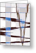 Quiet Abstract Greeting Card
