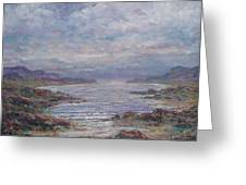 Quiet Bay. Greeting Card