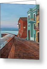 Quiet Sicilian Town Greeting Card