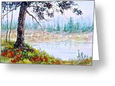 Quiet Inlet Greeting Card