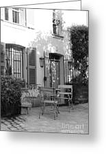 Quiet Moment  At Saint -  Tropez Greeting Card