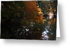 Quiet On The Lake Greeting Card