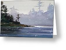 Quiet Shore Greeting Card