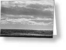 Quiet Shores After The Storm Greeting Card