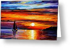 Quiet Sunset Greeting Card