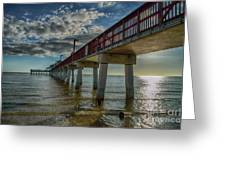 Quiet Time At The Beach Greeting Card