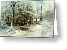Quiet Winter Afternoon Greeting Card